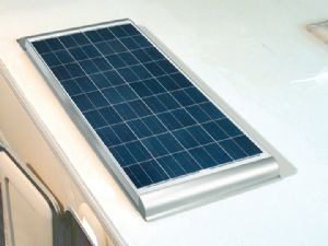 80W Roof Fitted Solar Panel (Fitted Price)